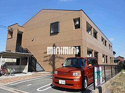 愛知県名古屋市中川区戸田ゆたか1丁目の賃貸アパートの外観