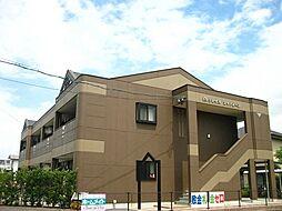 福岡県筑後市大字下北島の賃貸アパートの外観