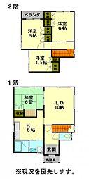 [一戸建] 北海道小樽市新光4丁目 の賃貸【北海道 / 小樽市】の間取り