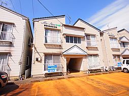 新潟県新発田市住吉町2丁目の賃貸アパートの外観