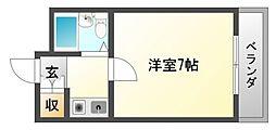 江坂NAKATAハイツ[1階]の間取り