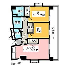 フォトレス栄[3階]の間取り