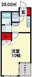 メゾンドグロウ21[3階]の間取り
