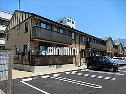 愛知県岡崎市欠町字三田田北通の賃貸アパートの外観