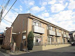 埼玉県上尾市弁財2丁目の賃貸アパートの外観