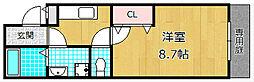 プラス・ドゥ・ルポ[2階]の間取り