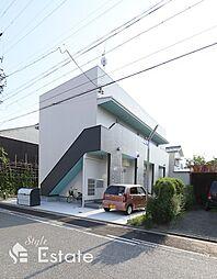 愛知県名古屋市南区白雲町の賃貸アパートの外観