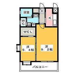 S-FORT筑紫通り[7階]の間取り