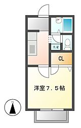 セレクトハウス[2階]の間取り