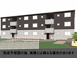 徳島県徳島市庄町1丁目の賃貸アパートの外観