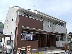 広島県福山市山手町7丁目の賃貸アパートの外観