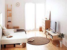 前回施工例は実際の室内とは異なります。
