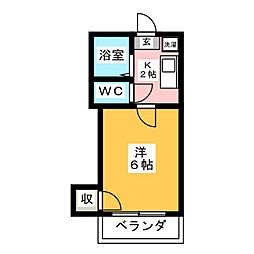 北山駅 2.8万円