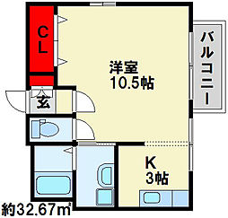 セレノ・Y[2階]の間取り