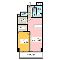 ジョイ桜本町[2階]の間取り