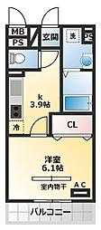 仮称)三木市平田D-Room[3階]の間取り