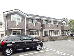 長崎県諫早市多良見町化屋の賃貸アパートの外観