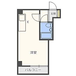 EPO新町レジデンス[8階]の間取り