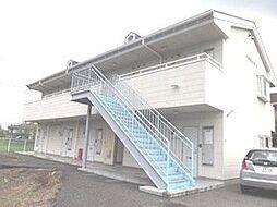 栃木県宇都宮市山本1丁目の賃貸アパートの外観