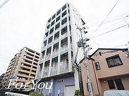 兵庫県神戸市灘区記田町5丁目の賃貸マンションの外観