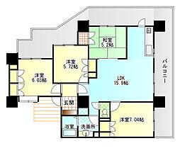 エンブルステーション富士[3階]の外観