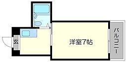 YSコート今福鶴見[3階]の間取り