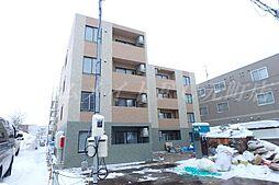 北海道札幌市東区北十七条東18丁目の賃貸マンションの外観