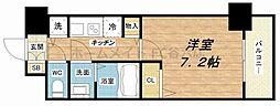 エステムコート南堀江IIIチュラ[13階]の間取り