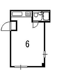 グレースヒサ[1階]の間取り