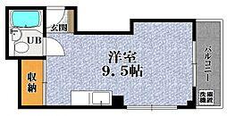 ウインライフ松原 I[5階]の間取り