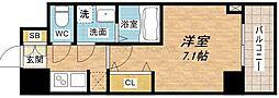 サムティ本町橋IIMEDIUS[8階]の間取り