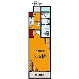 プレール・ドゥーク東雲II[3階]の間取り