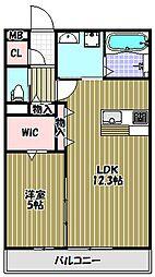 新築共同住宅(田中様邸)[2階]の間取り