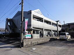 岐阜県加茂郡川辺町中川辺の賃貸アパートの外観