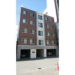 北海道札幌市中央区北4条西13丁目の賃貸マンションの外観