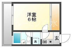 シャルマンフジ神戸壱番館[301号室]の間取り