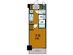 Osaka Metro中央線 弁天町駅 徒歩10分の賃貸マンション 7階1Kの間取り