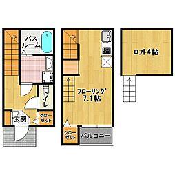 筥松4丁目 新築 TYPE-A[2階]の間取り