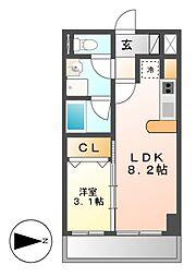 Casa Del Sol[1階]の間取り