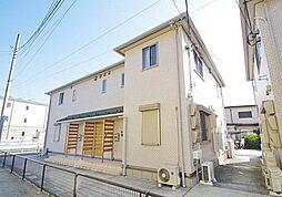 神奈川県川崎市麻生区上麻生6丁目の賃貸アパートの外観
