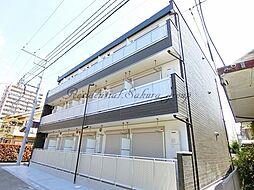神奈川県藤沢市鵠沼花沢町の賃貸マンションの外観