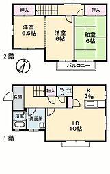 [一戸建] 愛媛県松山市畑寺町 の賃貸【/】の間取り