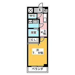 サニーコートMT[1階]の間取り