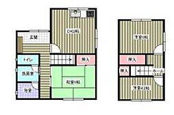 [一戸建] 愛媛県松山市内浜町 の賃貸【愛媛県 / 松山市】の間取り