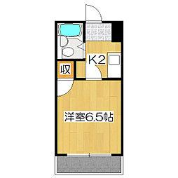 丹波橋サイドONE[2階]の間取り