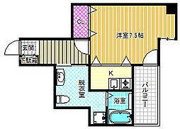 W.O.B.FUKUSIMA[5階]の間取り