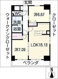 GRANDUKE鶴舞[2階]の間取り
