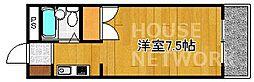 メゾンジョアPARTI[203号室号室]の間取り