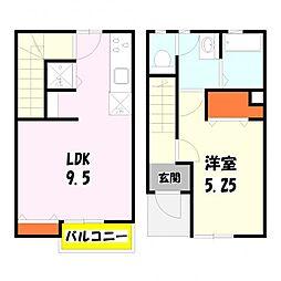 [テラスハウス] 東京都足立区古千谷本町4丁目 の賃貸【/】の間取り