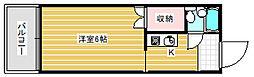 マーブロイ帝塚山[6階]の間取り